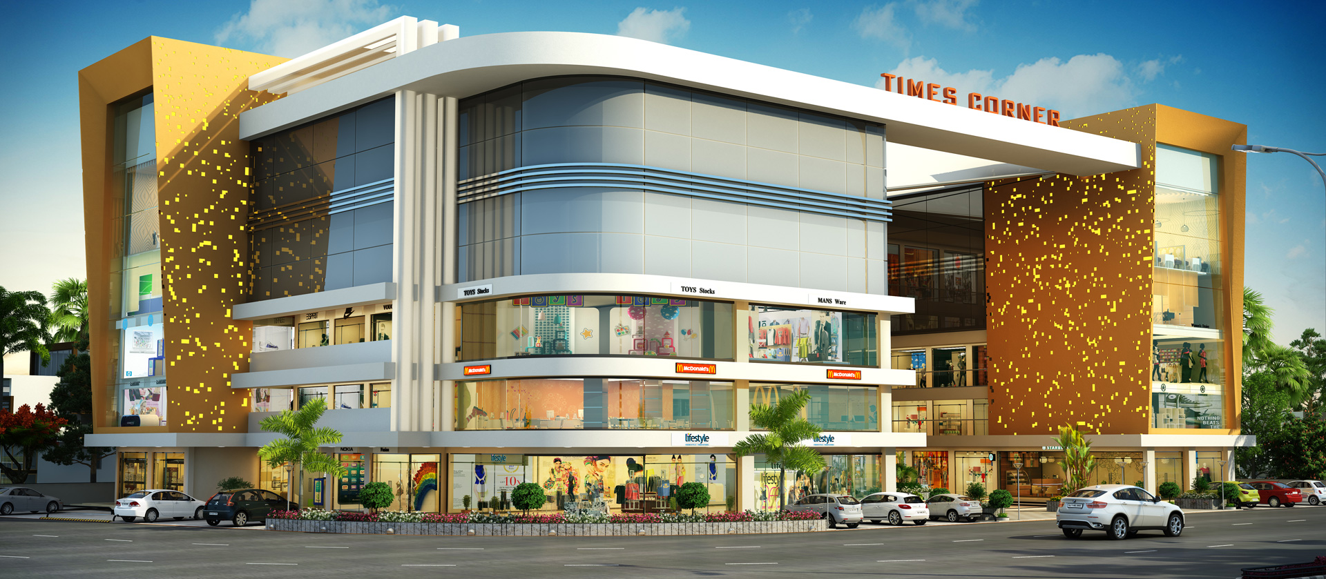 3 bhk flats in Althan surat