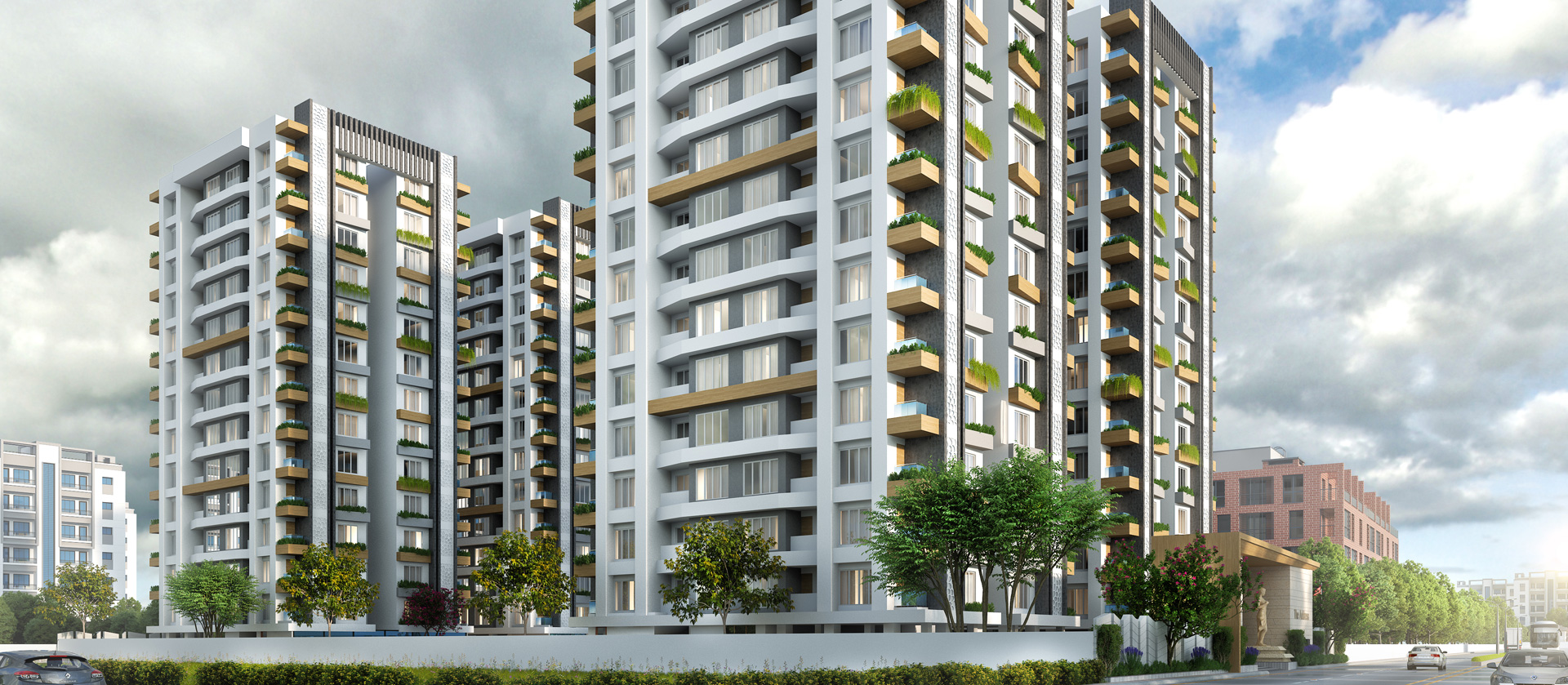 2bhk flats in Althan, surat