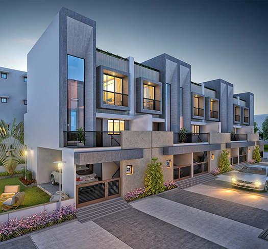 3 bhk Bunglow in Althan surat